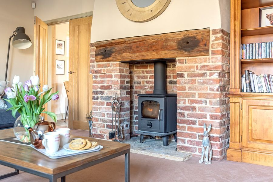 4 Links Court | Wood burner