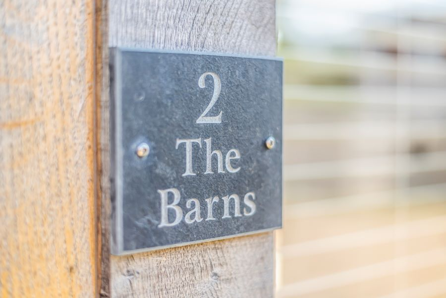 2 The Barns | Sign