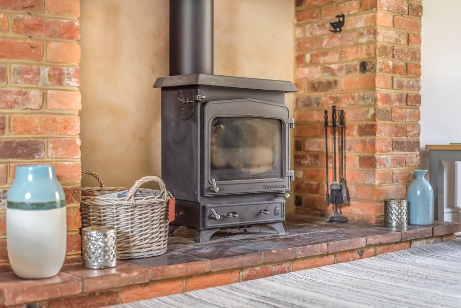 Field House | Wood burning stove