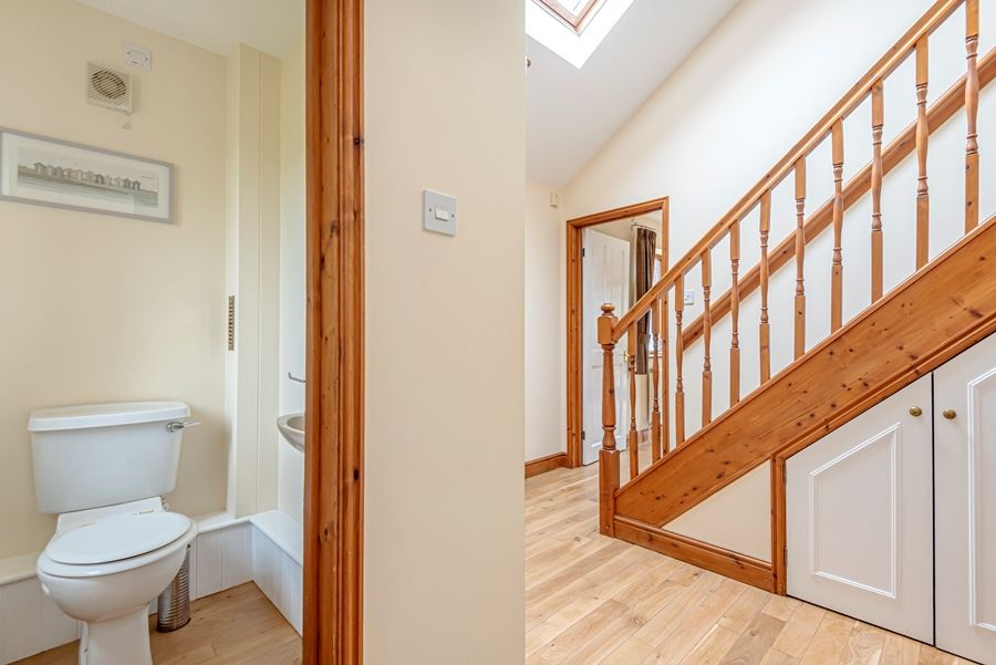 The New Cottage | Hall with cloakroom