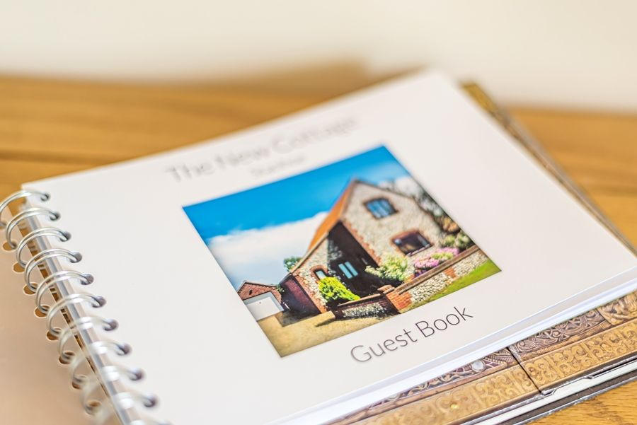 The New Cottage | Guest book