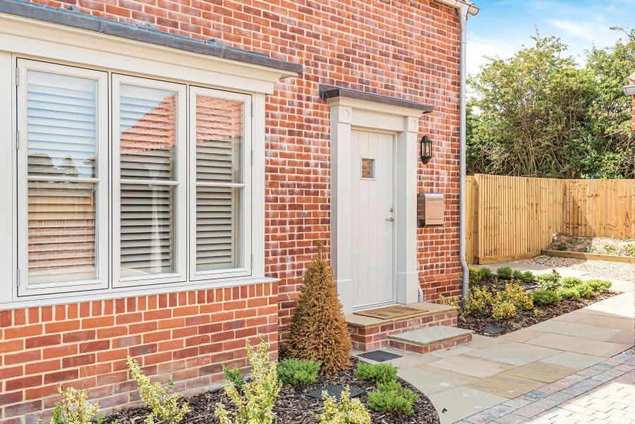 Allerdale House   Front door