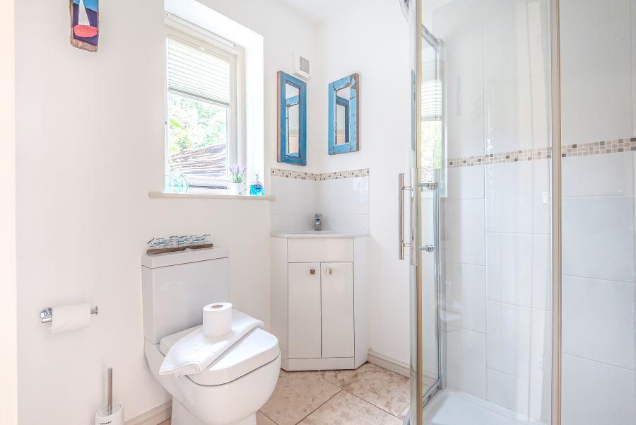 Eden House   Downstairs shower room