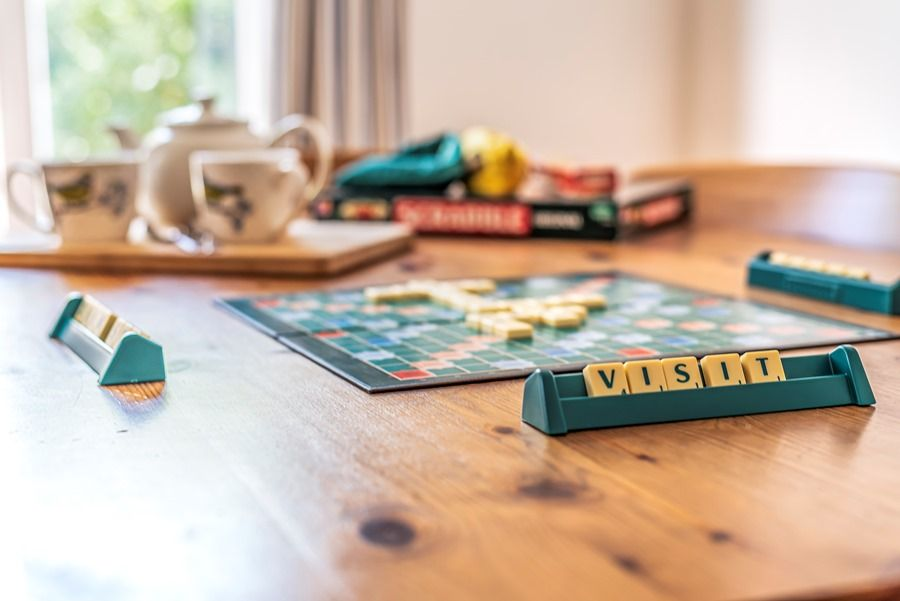 Hope Cottage in Docking | Time for a game