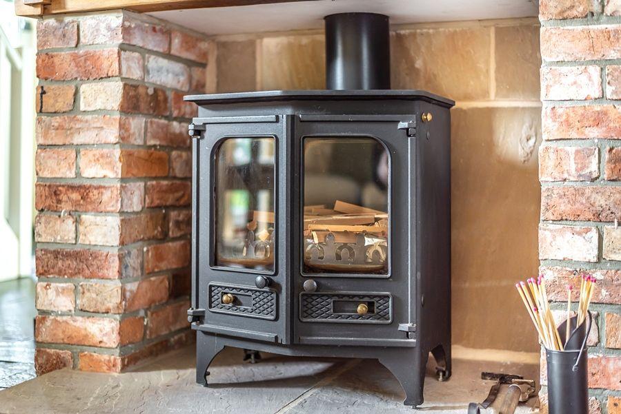 Virginia Cottage   Wood burner