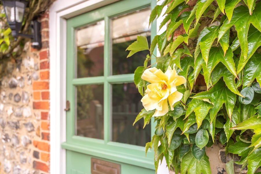 Virginia Cottage   Door