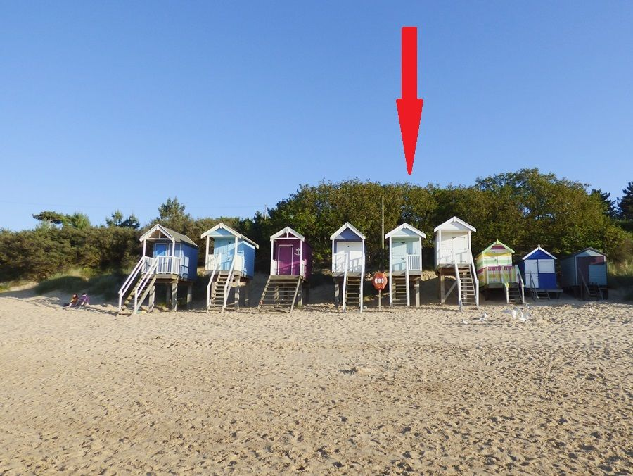 Wells Beach Hut | Beach Hut No. 5