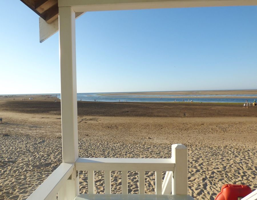 Wells Beach Hut | Fabulous views!