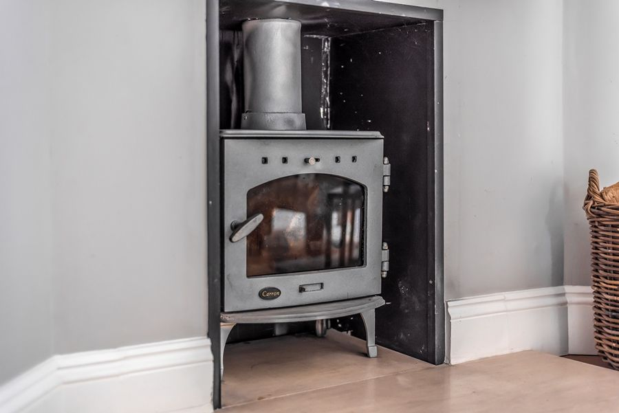 3 The Old School | Wood burner