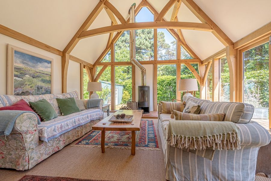 East Cottage | Oak framed garden room