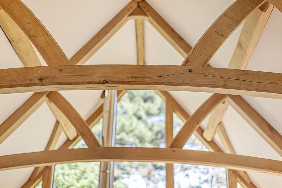 East Cottage | Oak beams
