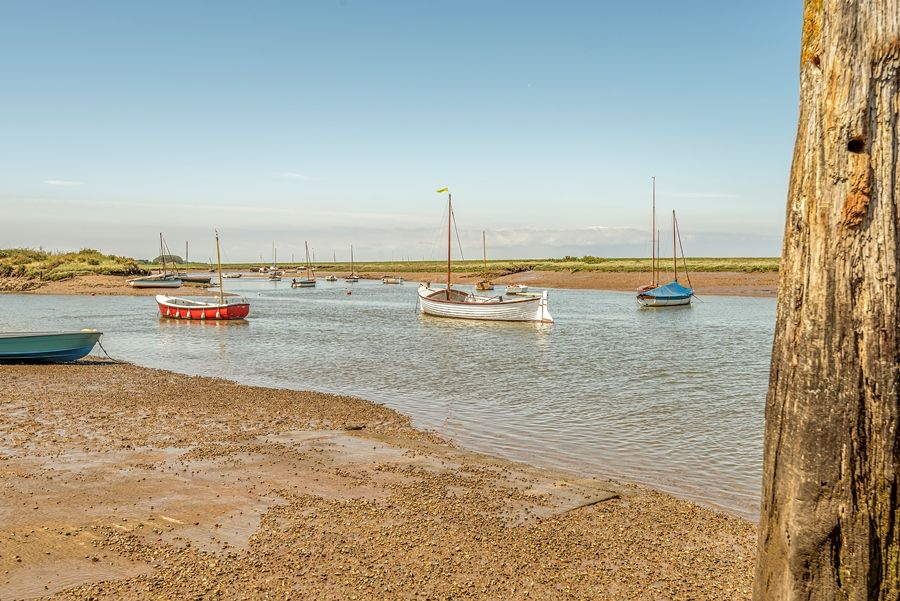 Lantern Cottage | Burnham Overy Staithe harbour