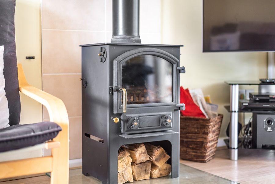 Harpers   Wood burner