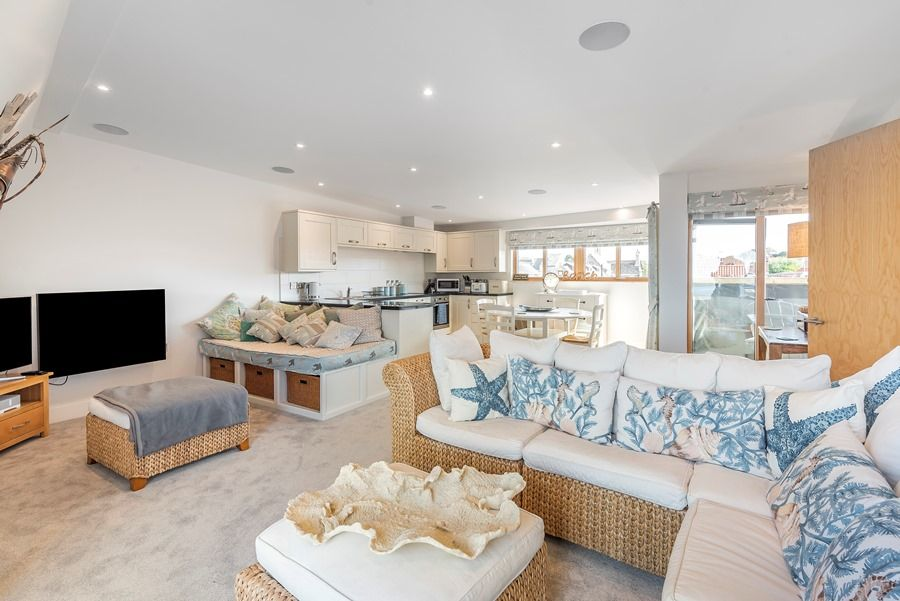 Peewits Penthouse | Living area