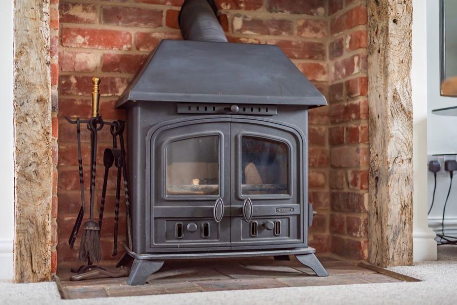 Rosemary House | Wood burning stove