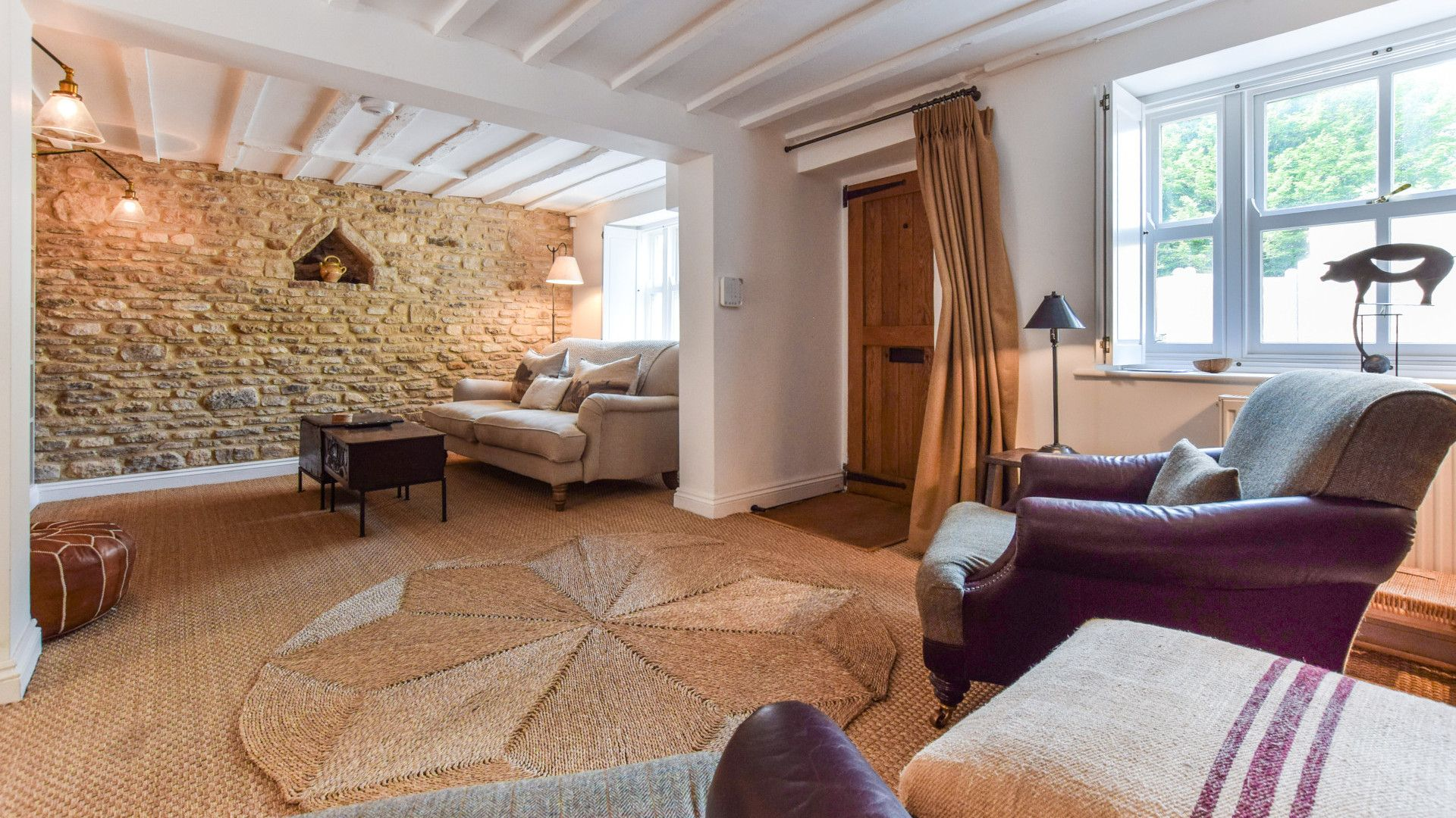 Living Room, Brown's Cottage, Bolthole Retreats