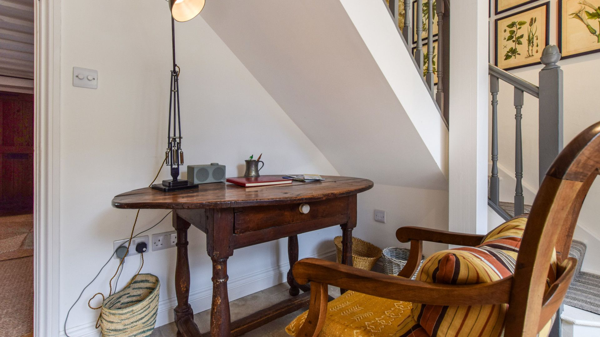 Study area, Brown's Cottage, Bolthole Retreats