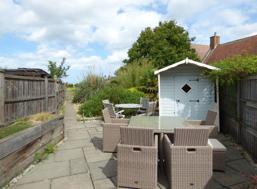 2 School Row | Back garden
