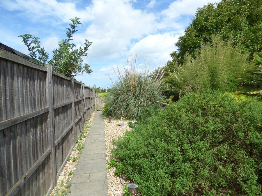 2 School Row | Garden path to parking area