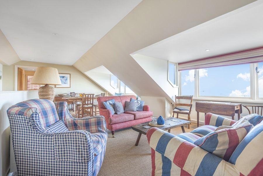 Flagstaff Boathouse | Sitting area