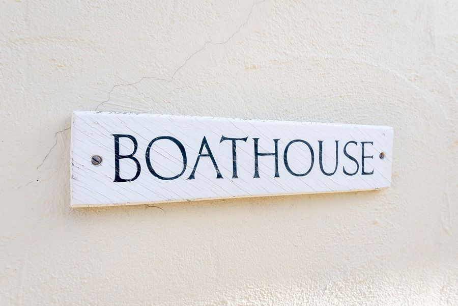 Flagstaff Boathouse | Sign