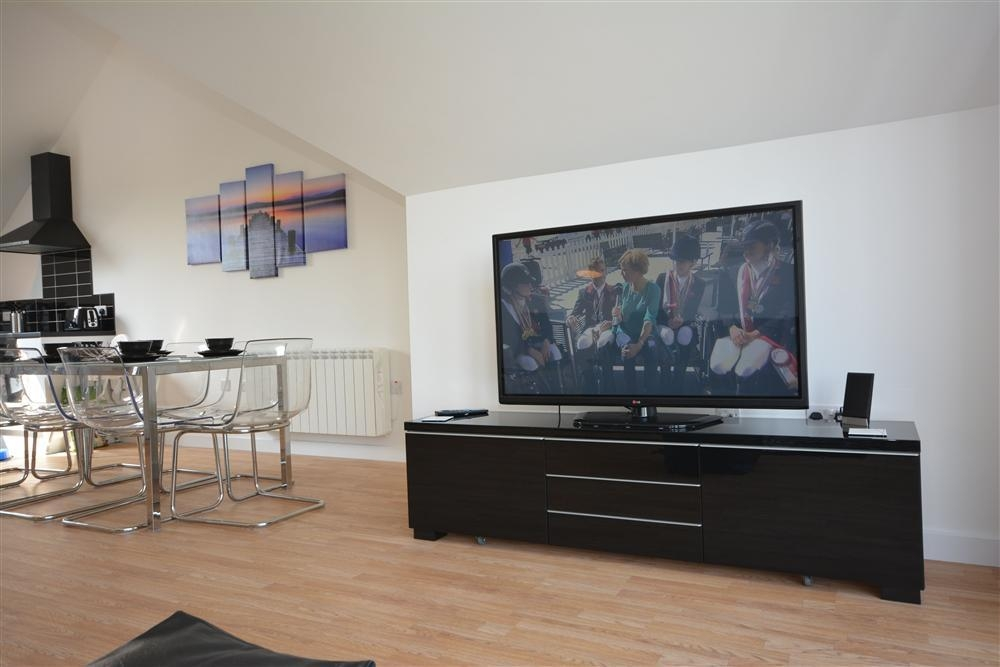 Bay View Heights TV Room