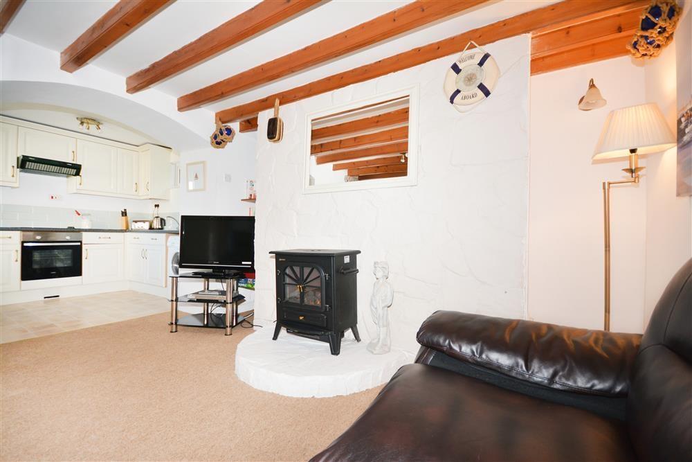 Fishermans Cottage - Living Area