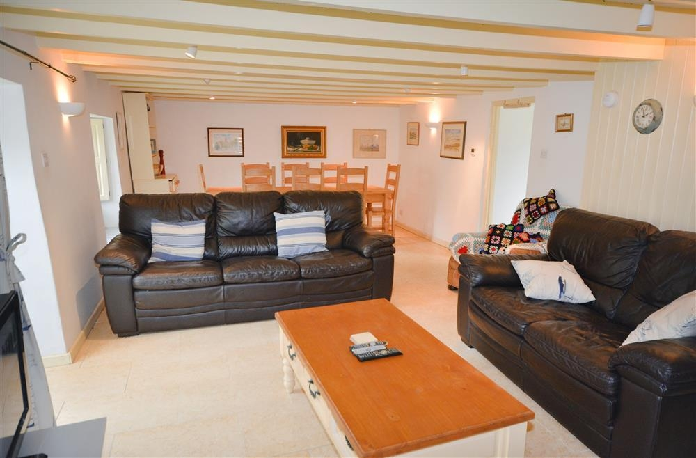 Mill Cottage - Living Area