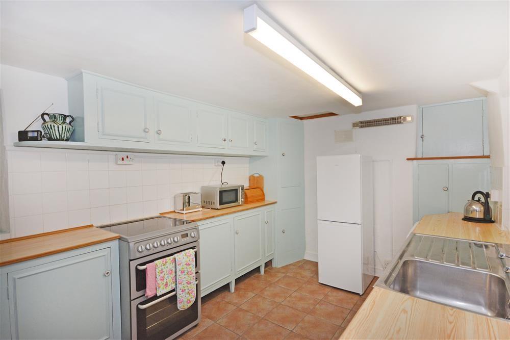Treth Cottage - Kitchen