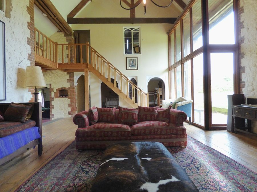 Field Barn House | Sitting room