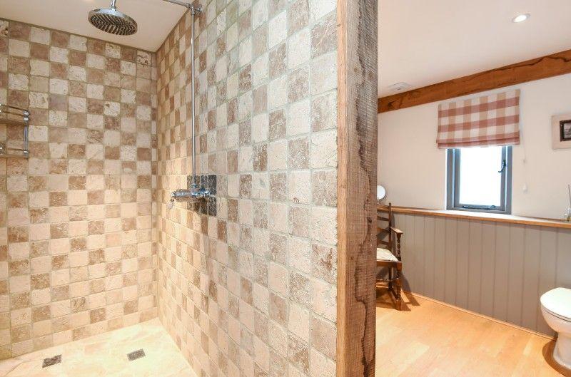 The Paddock, 2 Bedrooms | Downstairs walk in shower