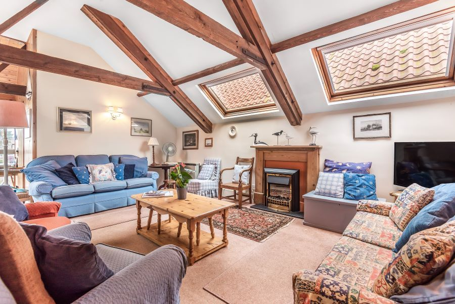 Staithe Barn | Sitting area