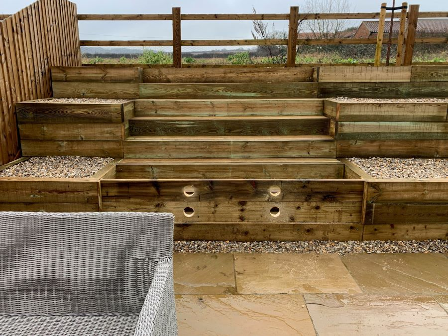 Allerdale House | New outside stairs