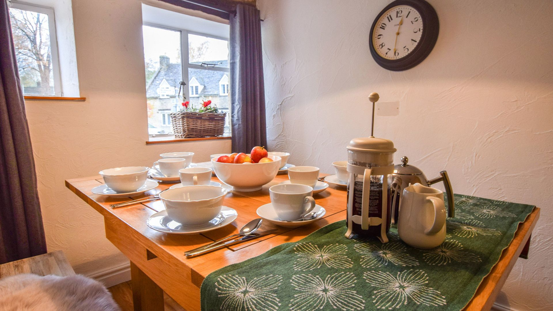 Dining Area, 1 Horsehsoe Cottages, Bolthole Retreats