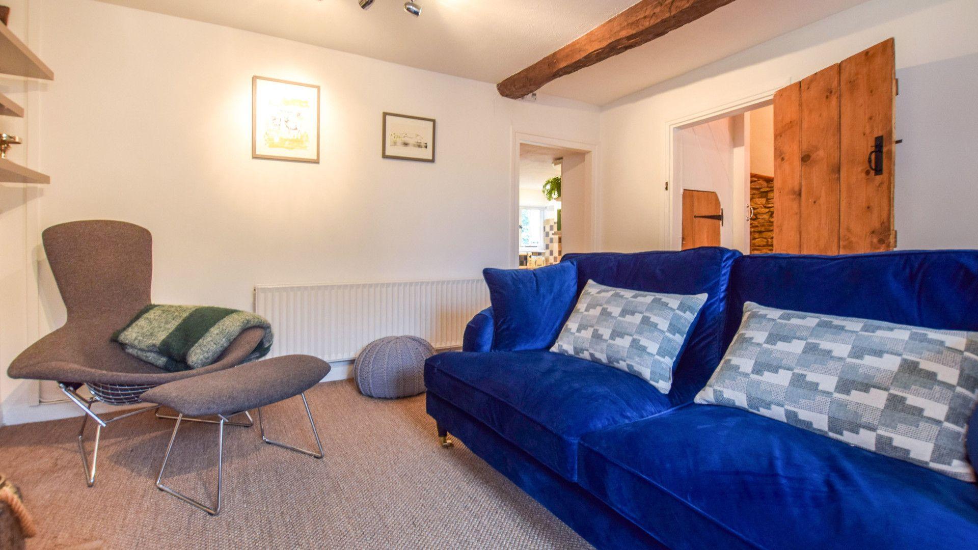 Living Room, 1 Horseshoe Cottages Bolthole Retreats
