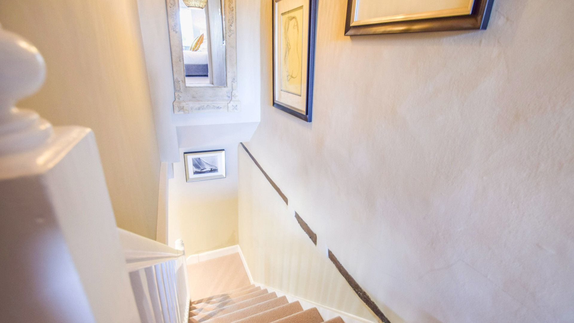Staircase, Appletree Cottage, Bolthole Retreats