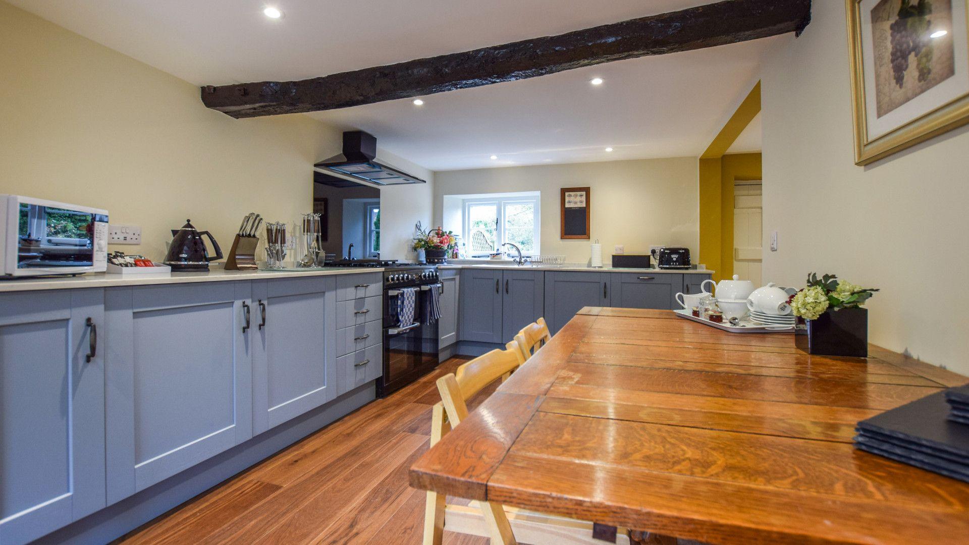 Kitchen, Archers at Sudeley Castle, Bolthole Retreats