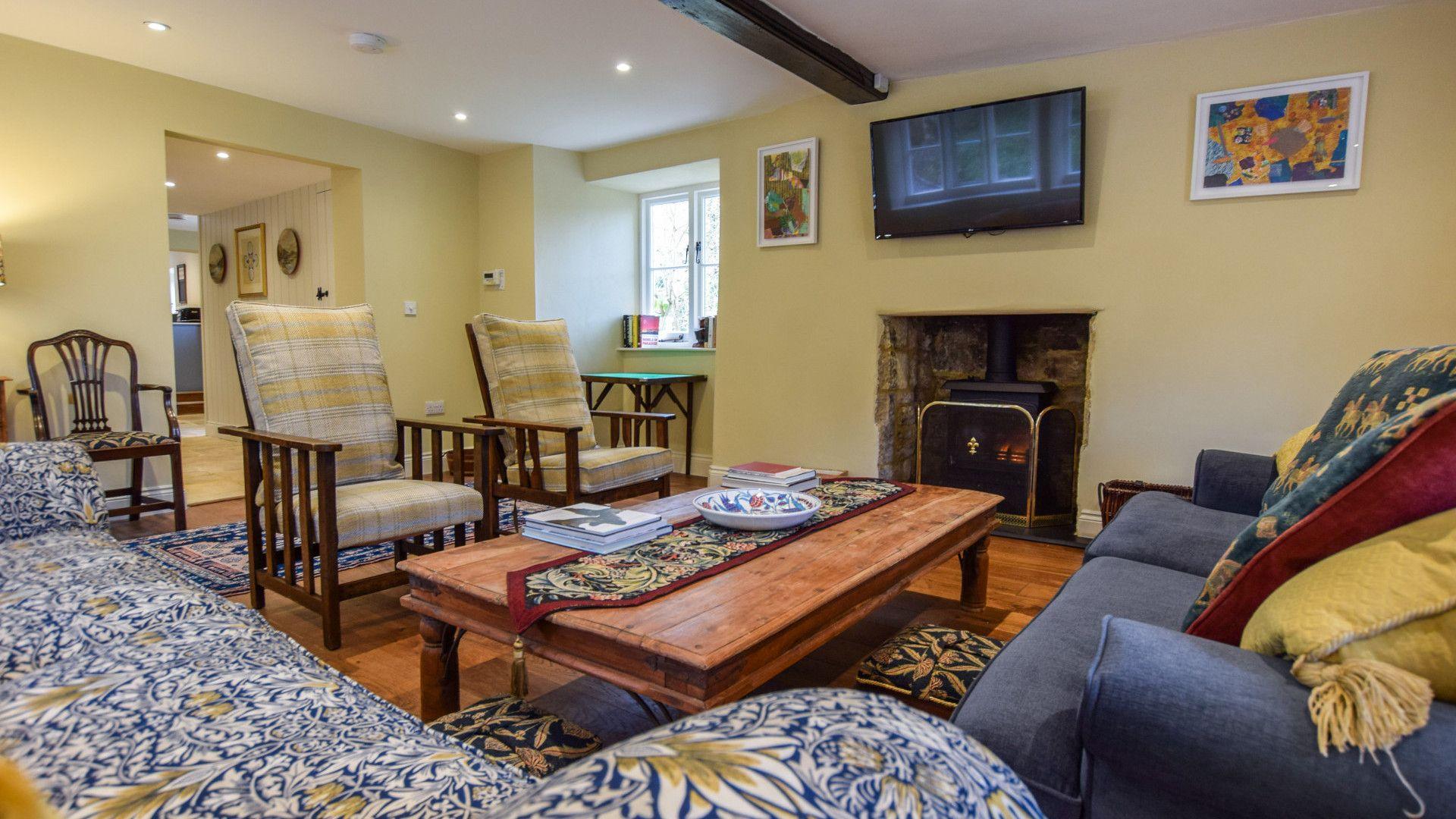 Living Room, Archers at Sudeley Castle, Bolthole Retreats