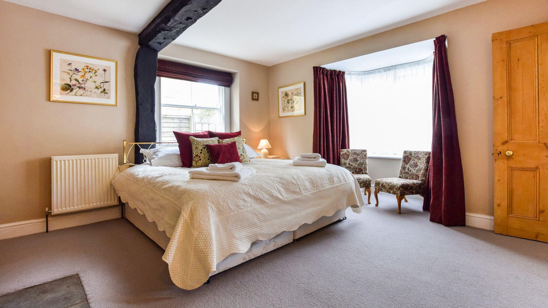Ground Floor Bedroom, Barebones Farm, Bolthole Retreats