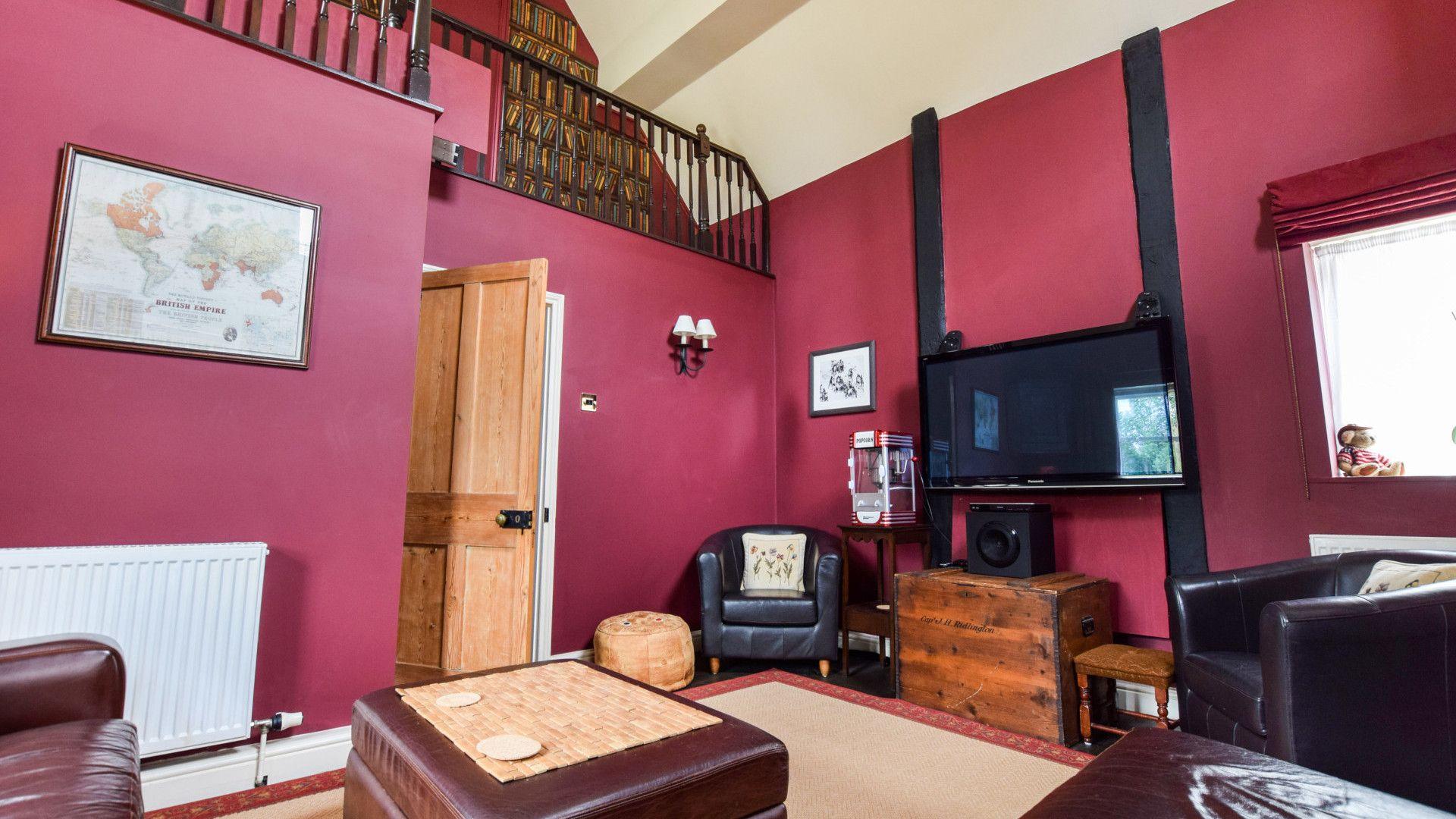 T.V. Room, Barebones Farm, Bolthole Retreats