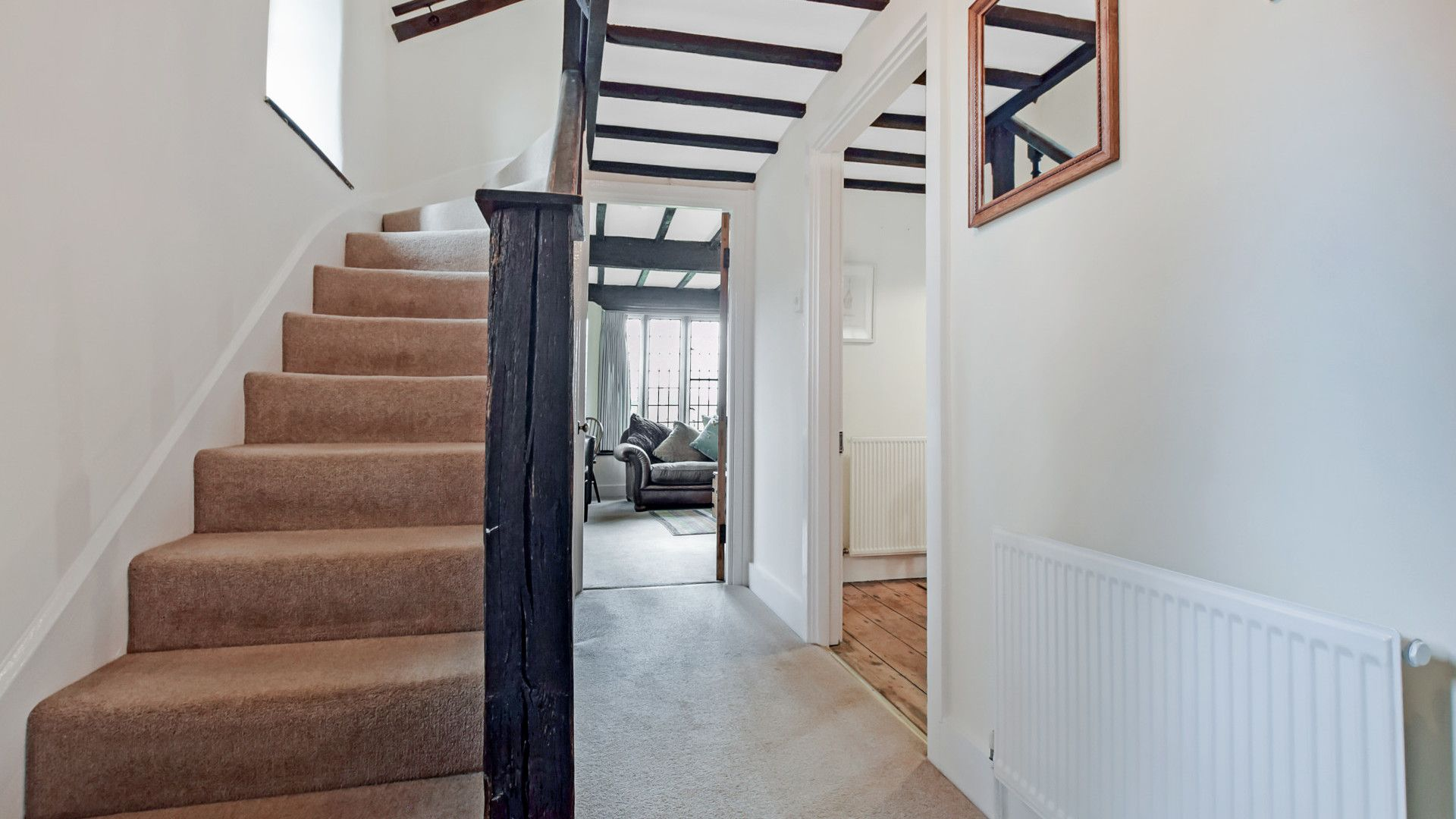 Staircase, Barndown, Bolthole Retreats