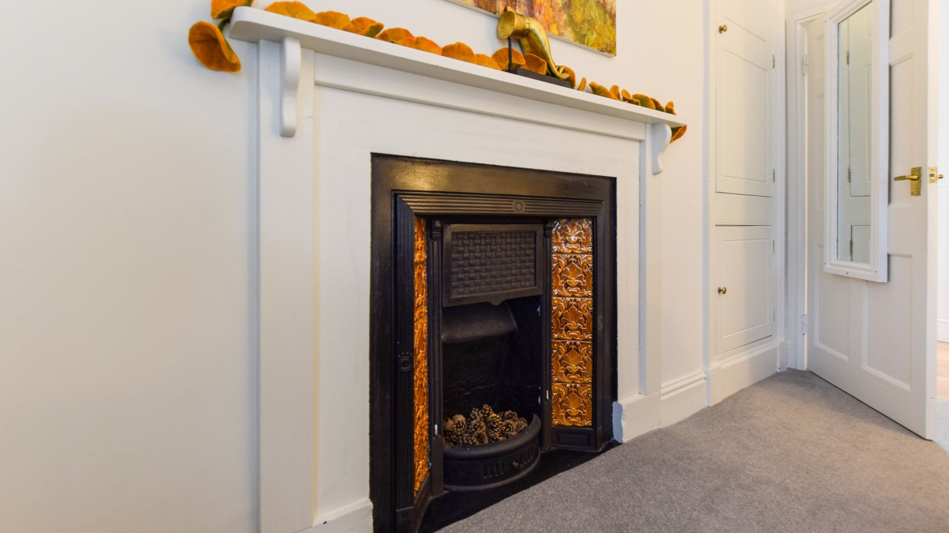 Bedroom, Feature Fireplace, Bolthole Retreats