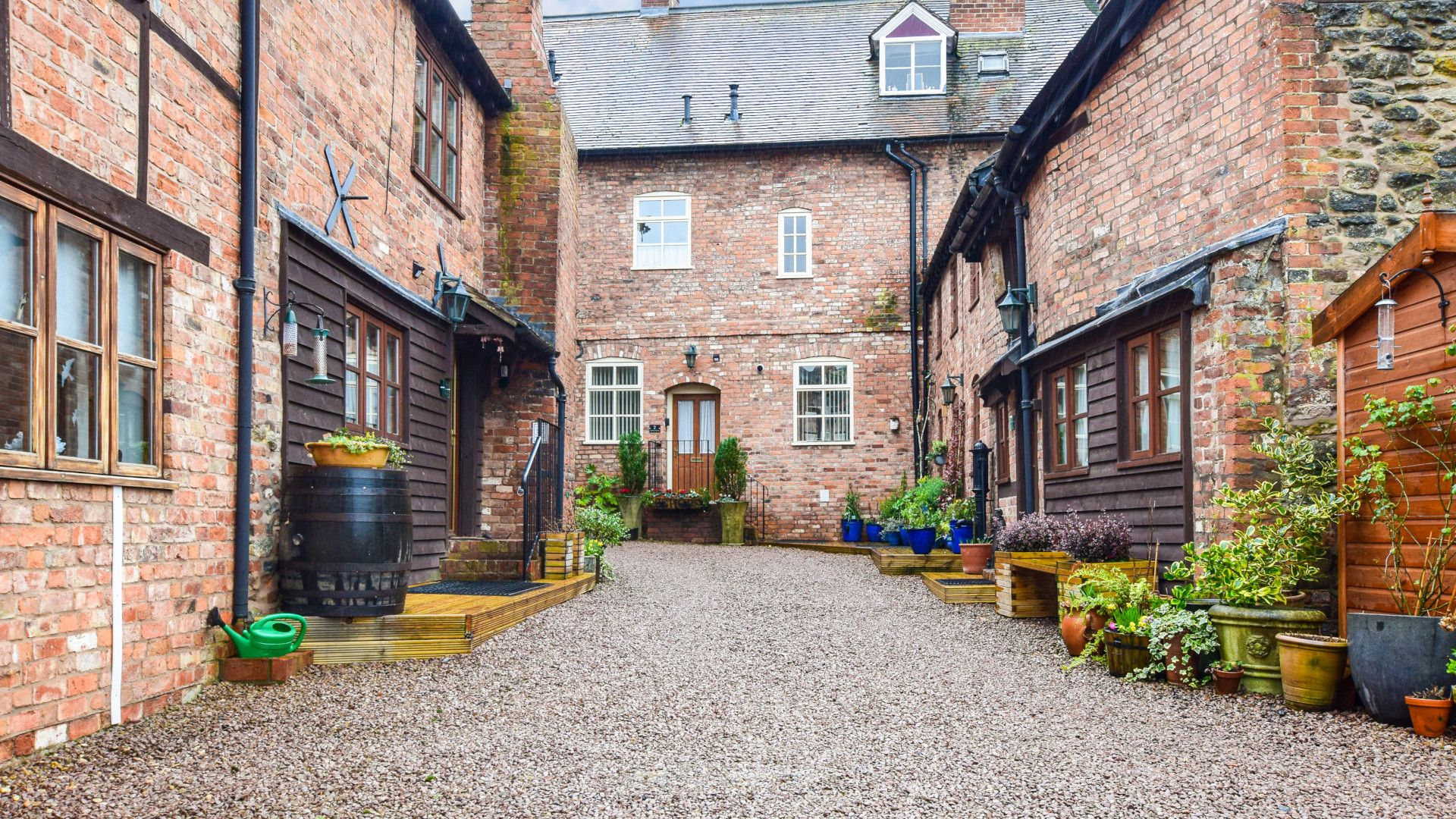 Private Courtyard, Bishop's, Bolthole Retreats