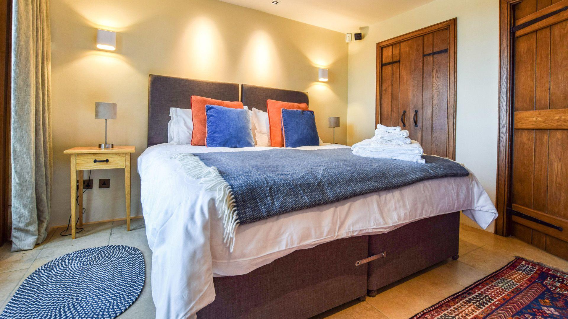 Bedroom 2, The Coach House, Bolthole Retreats
