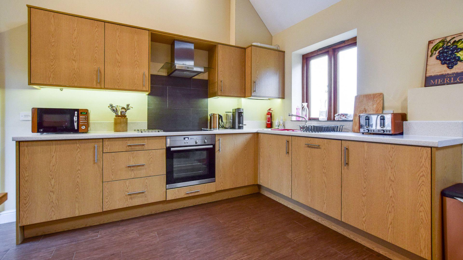 Kitchen, Combine Shed, Bolthole Retreats