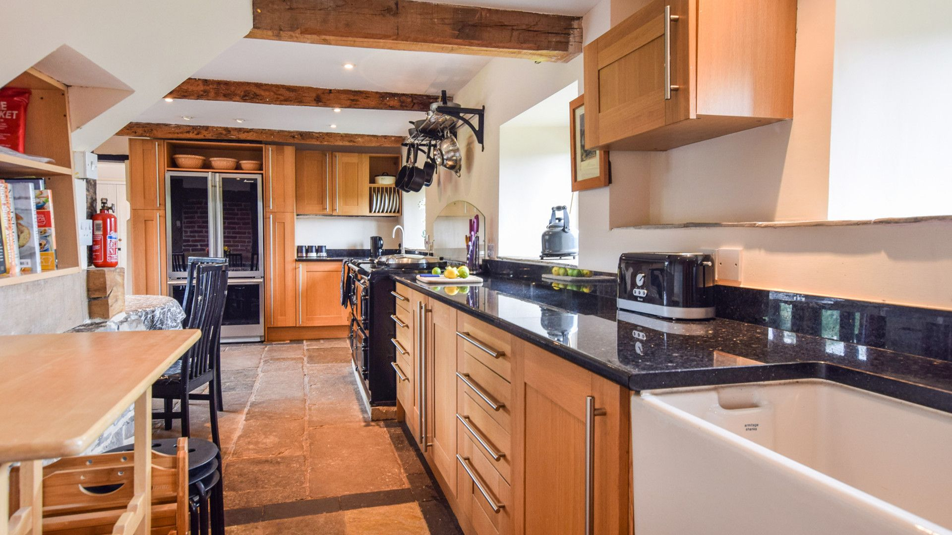 Kitchen with Aga, Cyder Press House, Bolthole Retreats