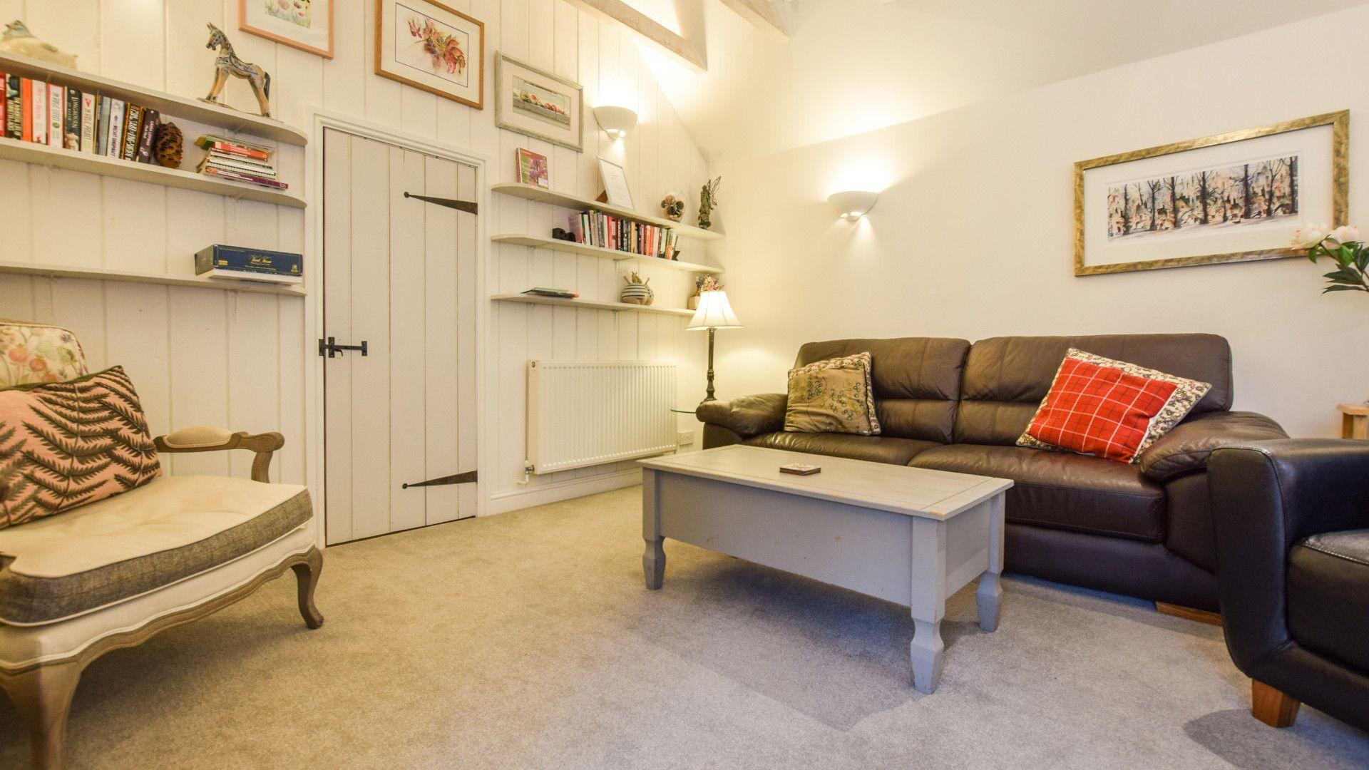 Living area, Drying House, Bolthole Retreats