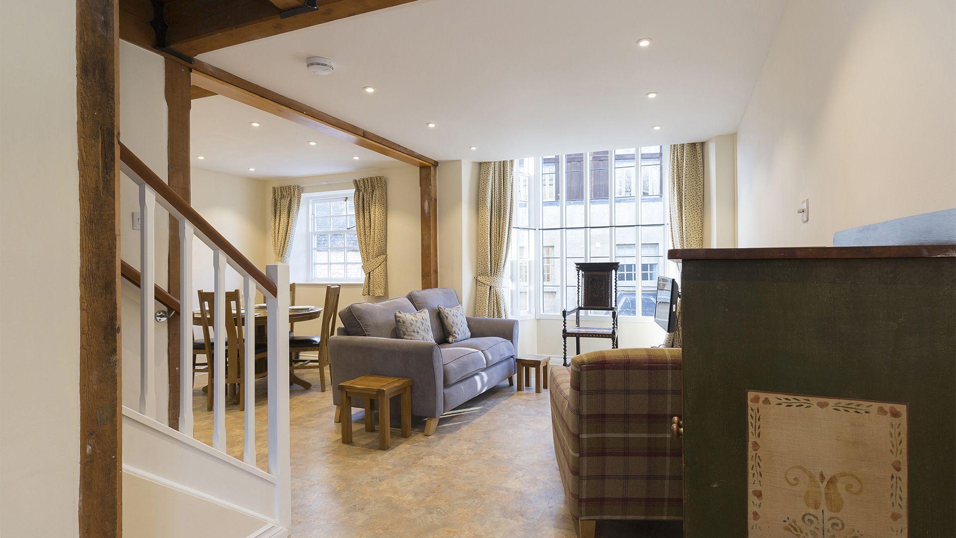 Living area, Charles I at Sudeley Castle, Bolthole Retreats