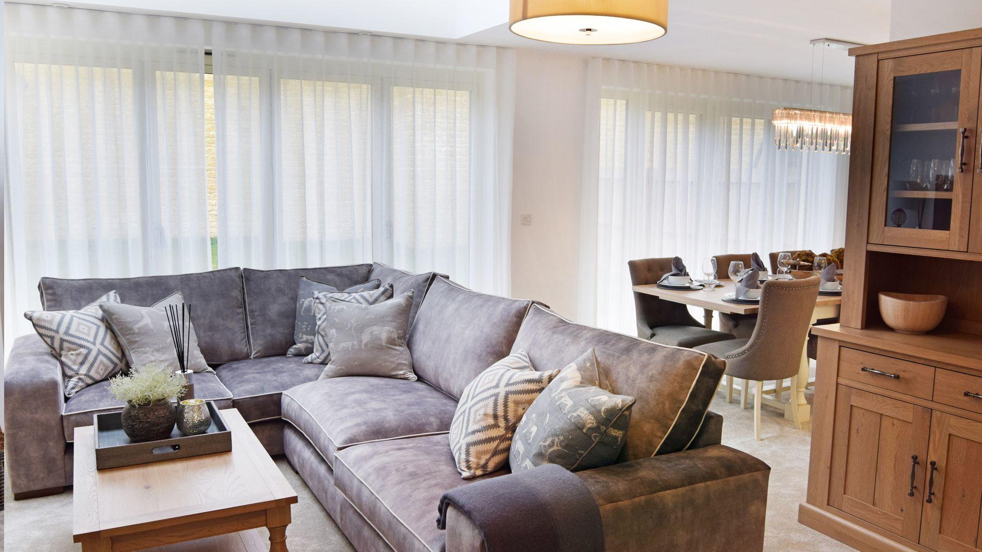 Living area, Hawthorn Cottage, Bolthole Retreats