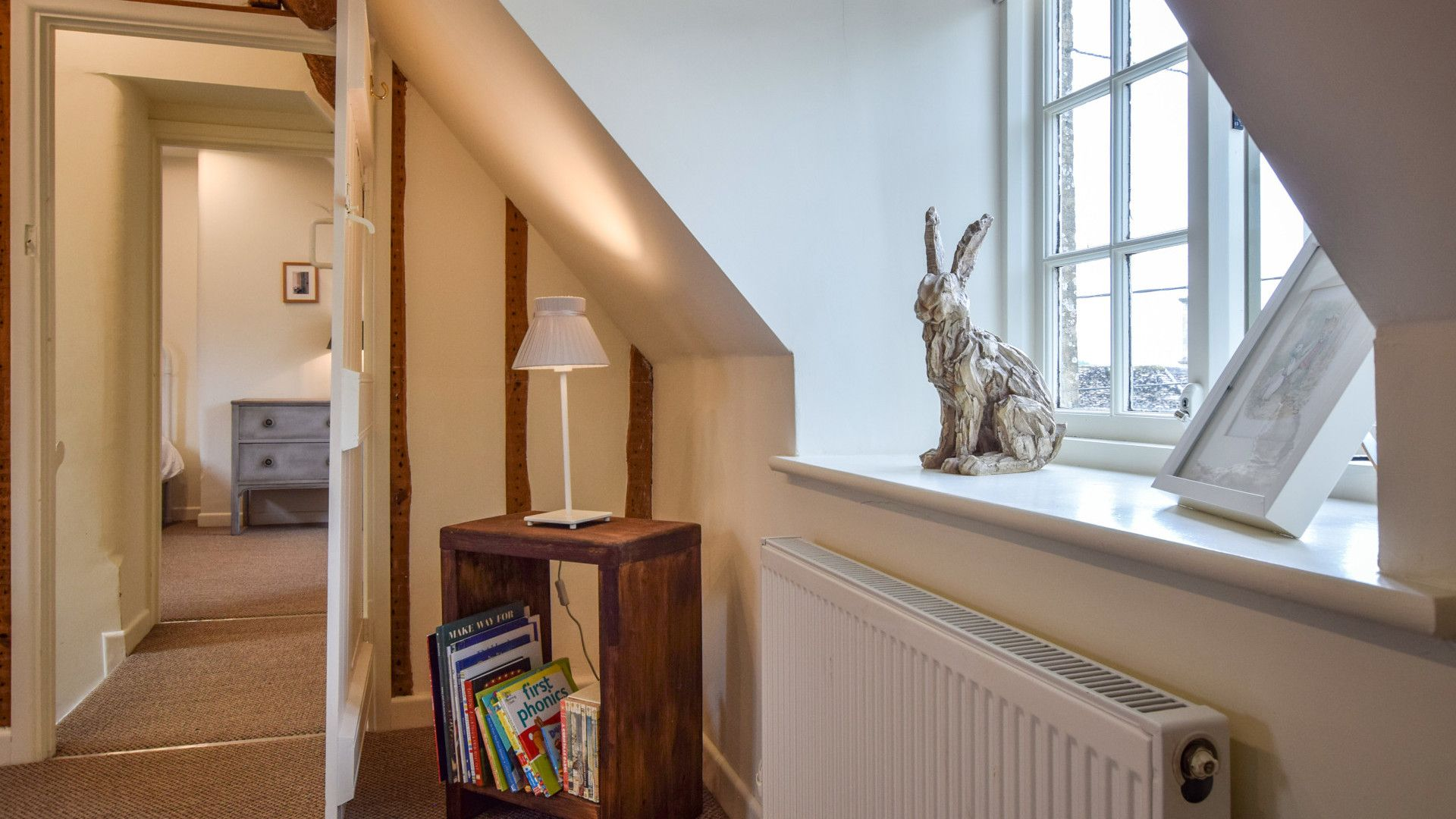 Bedroom 3, top floor, Holly Cottage, Bolthole Retreats